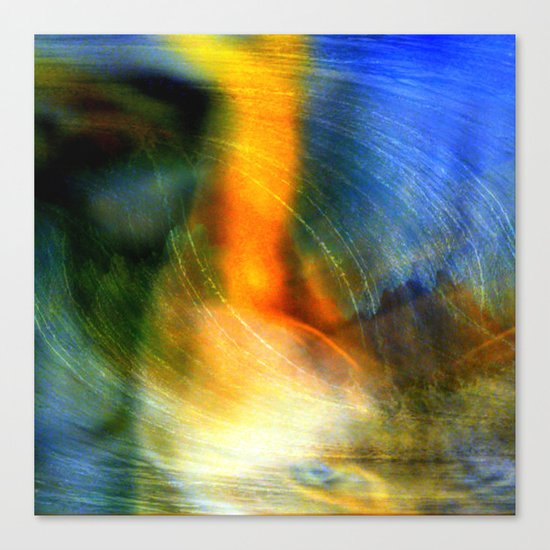 abstract ###### # Canvas Print