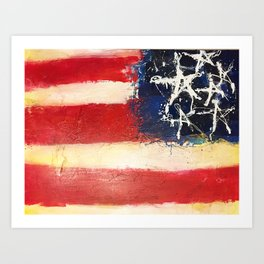 Made in America Art Print