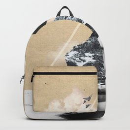 collage art / Wild Nature Backpack