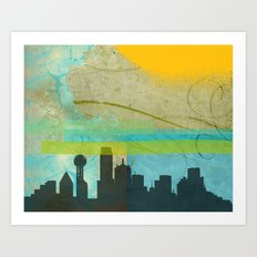 Locals Only: Dallas in Dreams Art Print
