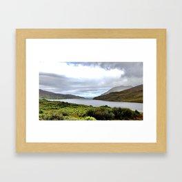 Fjord Framed Art Print