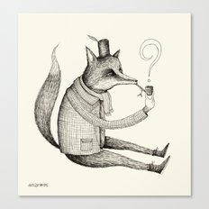 'Theories' Character Canvas Print
