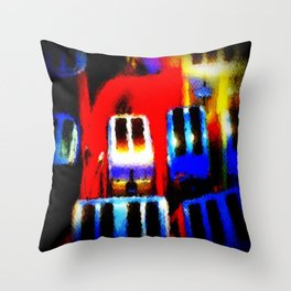 The Heat Is On Throw Pillow