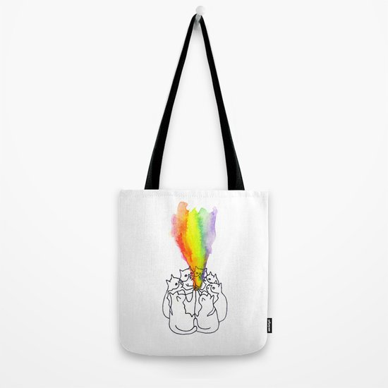 """We come together to fill the world with wonder!"" Tote Bag"