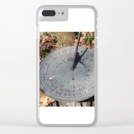 The Best Is Yet To Be Clear iPhone Case