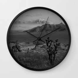 Joshua Tree Death Valley Wall Clock