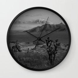 Joshua Tree Death Valley Wall Clock