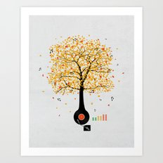 Sounds of Nature Art Print