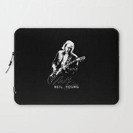 Neil Young-Rust never sleeps-Music,Folk,Rock Laptop Sleeve