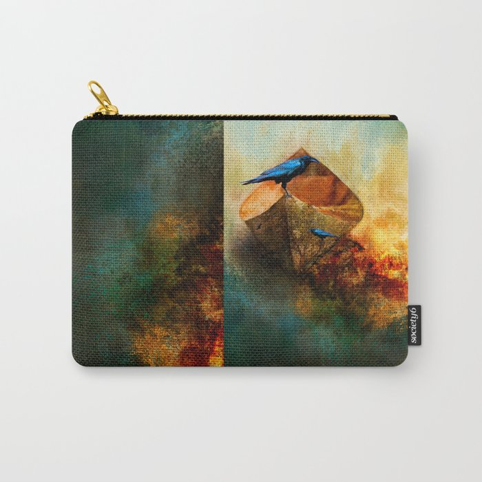 Beached Crow Carry-All Pouch