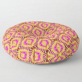 Magic Ribbed Diamonds Floor Pillow