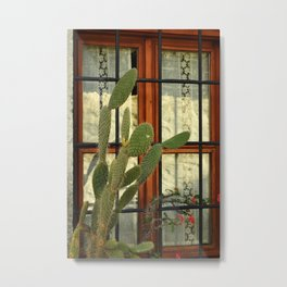 bodrum window Metal Print