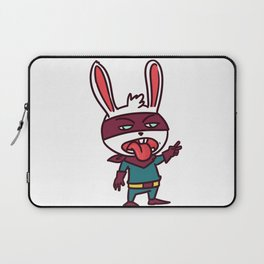 superhero bunny Laptop Sleeve