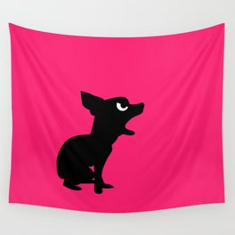 Angry Animals: Chihuahua Wall Tapestry