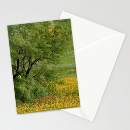 Windblown Palette Stationery Cards