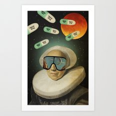 Untitled Collection -- Virtual Reality Art Print