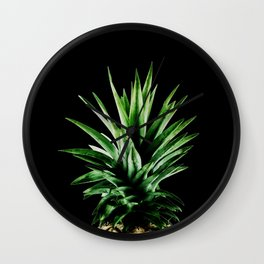 TROPICAL PINEAPPLE Wall Clock