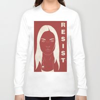 fringe Long Sleeve T-shirts featuring The Resistance (Fringe) by error23