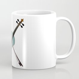 Delaware State Fiddle Coffee Mug