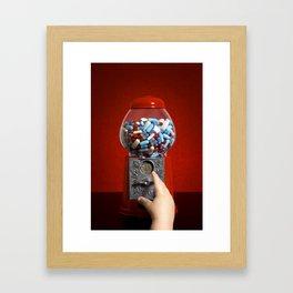 Candy Shop Framed Art Print
