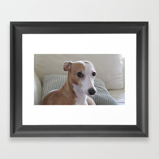 Lil Ru Framed Art Print