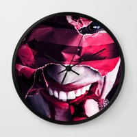 gift card Wall Clocks featuring Gift by Imustbedead
