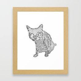 Challigramme  Framed Art Print