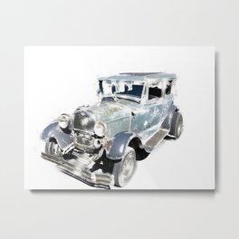 Vintage Ford Model A Metal Print