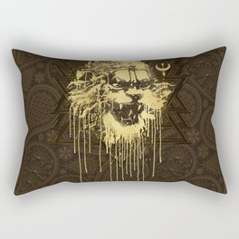 Crush The Demoniac Rectangular Pillow