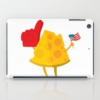 cheese iPad Cases featuring cheese by alex eben meyer