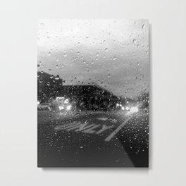 Rain in Ridgewood Metal Print