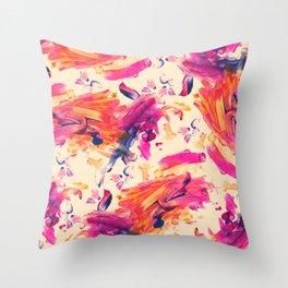 Rowen Finger Painting Throw Pillow