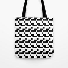 Blankaart Black & White Pattern Tote Bag