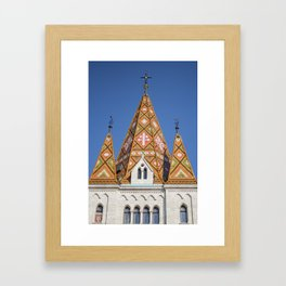 Buda Castle Framed Art Print