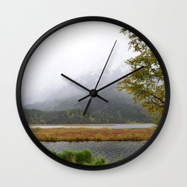 Season's First Snow II Wall Clock
