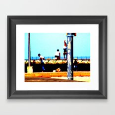 Tel Aviv Port #2 Framed Art Print