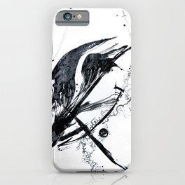 ink meets paper - black iPhone Case