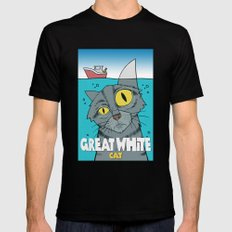 Great White Cat 2X-LARGE Black Mens Fitted Tee