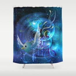 Freiheit - freedom Shower Curtain