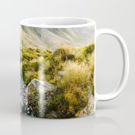 Glacial Stream at Mt Cook Coffee Mug