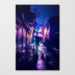 Colorful Seoul Canvas Print
