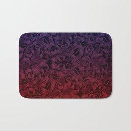 Brocade floral pattern Bath Mat