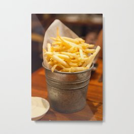 Golden Crisps Metal Print