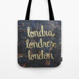 LONDRA/LONDRES Tote Bag