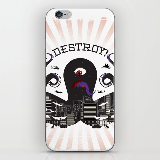 DESTROY! iPhone & iPod Skin