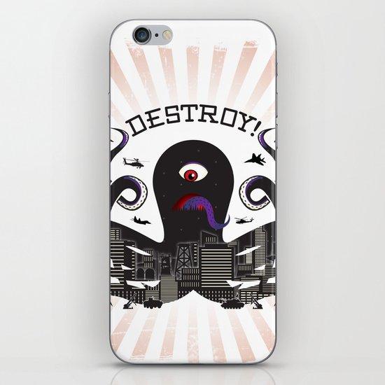 DESTROY! iPhone & iPod Skin
