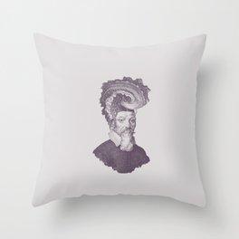 Haute Coiffure  /#8 Throw Pillow