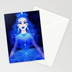 Princess Blue Stationery Cards