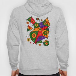 Abstract #240 Pizza Party Hoody