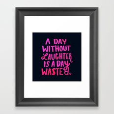 Laughter Framed Art Print